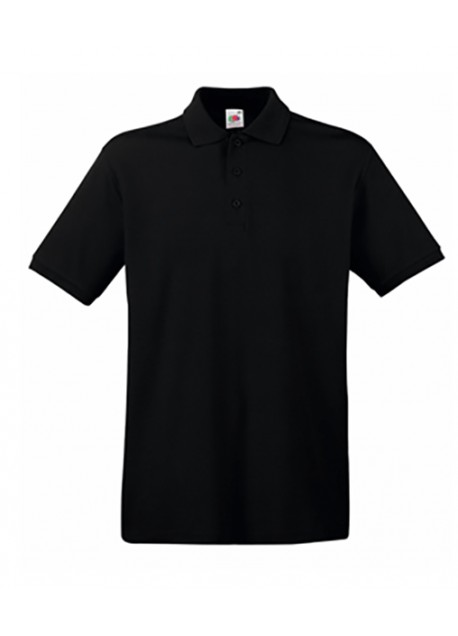Polos Fruit of the Loom noirs Casual homme 0jJr1JIG