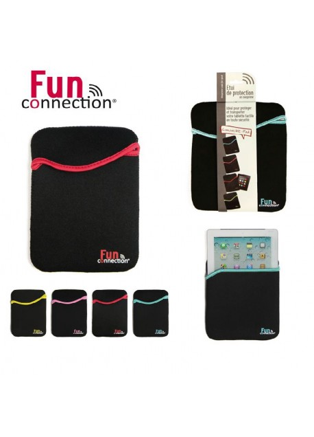 HOUSSE ETUI PROTECTION NEOPRENE fun connection