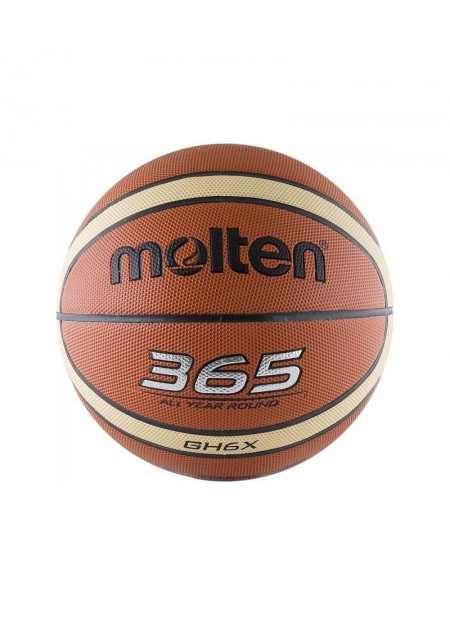 SYN. LEATHER BASKETBAL 12 panels